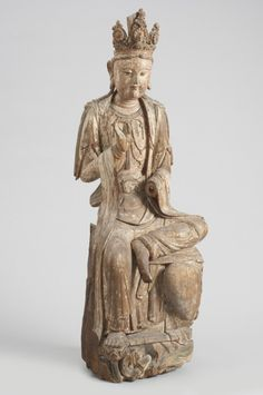 Bodhisattva of Compassion (Guanyin) Made in China Period: Qing Dynasty (1644-1911) 18th century