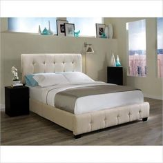 white queen bed - Google Search