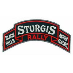 Sturgis Rally Patch 4""