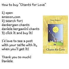 """Available on Amazon, as both paperback and ebook! Just click the """"Visit"""" button! . #love #book #author #announcement #chantsforlove #wow #newbook #amazon #danielebergamini #danbergam  #writersofinstagram #words #poet #poetess #poetry #poem #spilledink #poetsofig #poets #poetsofinstagram #writer #poetryisnotdead #poetrylives"""