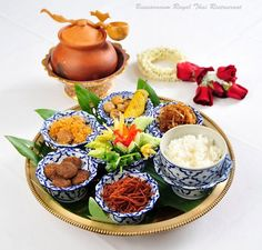 Traditional Central Thai Food