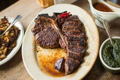 The 24 Iconic Dishes of New York City - Eater NY: 13 Porterhouse at Peter Luger Steak House