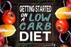 Plan on how to start a low carb diet