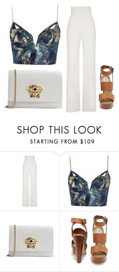 """Untitled #21"" by saintlauryn ❤ liked on Polyvore featuring Yves Saint Laurent, Zimmermann, Versace and Steve Madden"
