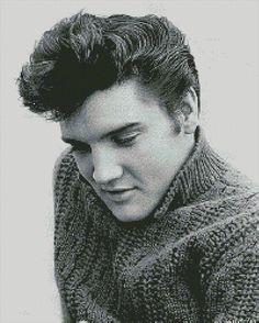 Elvis+Cross+Stitch+Patterns | Elvis Presley Free Pictures And Cross Stitch Patterns Thomas