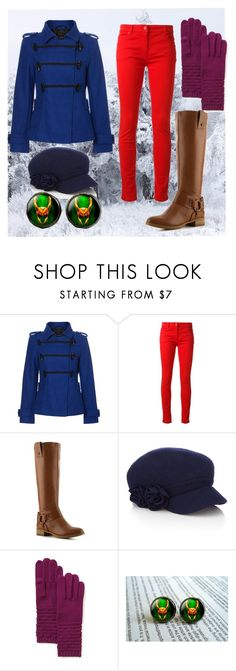 """Winter"" by alslatham ❤ liked on Polyvore featuring Therapy, Salvatore Ferragamo, Nine West, Accessorize and Echo"