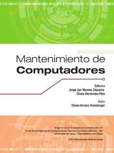 """Cover of """"MANTENIMIENTO DE COMPUTADORAS"""""""