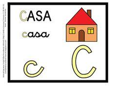 CARTILLA DE LECTURA INFANTIL : ABECEDARIO COLOR Alphabet, Symbols, Homeschooling, To Tell, Vestidos, Number Posters, Education Posters, Spanish Alphabet, Alpha Bet