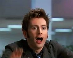 i watch shows David Tennant is in. {Except Doctor Who. Doctor Who, 10th Doctor, Matt Smith, Science Fiction, Don't Blink, Raining Men, Torchwood, Cute Gif, Dr Who