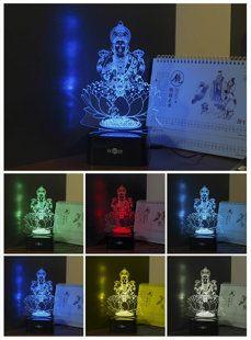 Lampe LED Bouddha