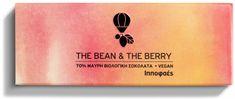 Τhe Βean and Τhe Βerry Hippophaes... Μαύρη βιολογική σοκολάτα 70% κακάο με ιπποφαές. Εντονο άρωμα κακάο. Νόστιμη γεύση κακάο με λίγη ζάχαρη και ελαγρώς ξινές νότες από πραγματικές αποξηραμένες ιπποφαές! Chocolate World, Berries, Berry Fruits, Bury, Blackberry, Strawberries