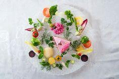Vegedeco Salad, vegan Salad cake
