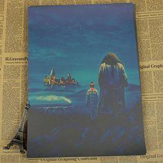 Harry Potter Vintage Retro Movie Posters Multiple Varieties!