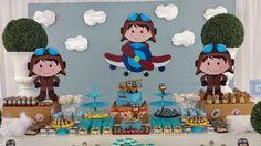 Festas e Cia: Aviador - Miguel 1 ano