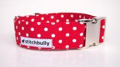 STITCHBULLY Halsband Polkadot von stitchbully  auf DaWanda.com