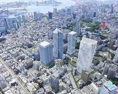 東京五輪の「玄関口」に=虎ノ門に高層ビル3棟建設-森ビル