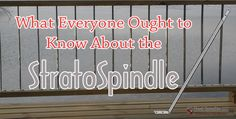 The StratoSpindle – the only premium stainless steel deck spindle that allows for multiple installation styles. Maybe you have never heard of . Deck Balusters, Steel Deck, Neon Signs, Stainless Steel