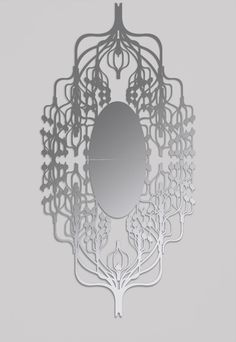 Spline mirror by Matali Crasset