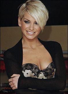 Sarah Harding hair