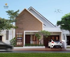 House Front Design, Roof Design, Facade Design, Architecture Design, Minimalist Architecture, Minimal House Design, Modern Minimalist House, Facade House, House Roof