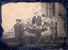 Vincent van Gogh, Paul Gauguin and Emile Bernard, among others, 1887.