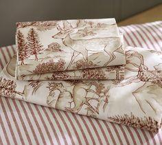 Reindeer Sheet Set | Pottery Barn