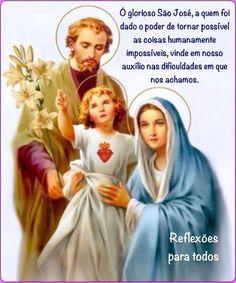 19 de Março - Dia de São José ORAÇÃO A SÃO JOSÉ PARA AS CAUSAS IMPOSSÍVEIS (cesse completa)
