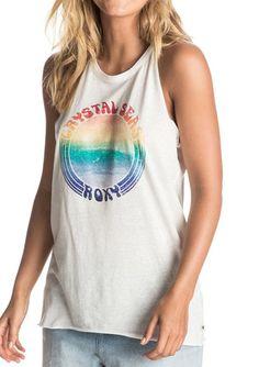 Shop Roxy Carmens Wave Tank in Marshmellow   Jack's Surfboards
