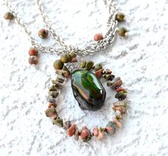 June Beetle Necklace by myNaturesDESIGN on Etsy, $69.00