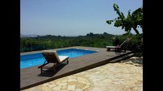 Two Storey House, Square Meter, Private Pool, Greek Islands, Outdoor Furniture, Outdoor Decor, Sun Lounger, Coastal, Villa