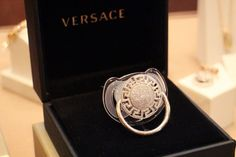 Diamond Versace Pacifier: Not exactly a Silver Spoon | Blog | http://www.kate-alexandra.com