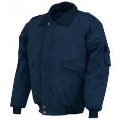 Cazadora Pilot Algodón Referencia  04070 Marca:  Industrial Starter  Cazadora ANTIFRÍO acolchada, cuello revestido en punto, bolsillos dobles y uno interno, bolsillo en la manga. Cintura y puño de punto elástico.