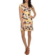 Vestido Puramania Tira Costas – Amarelo