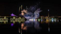 Fireworks At Putrajaya Lake | Timelapse