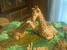 giraffe cake | giraffe birthday cake
