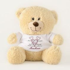 MeeMaw Mother's Day Teddy Bear - home gifts ideas decor special unique custom individual customized individualized