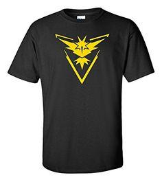 Pokemon Go Team Instinct Black Shirt (Medium) | #Apparel #external #Shirts