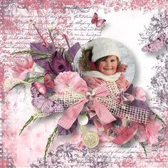 """Kit """" Romantic """" by Angel´s Designs Photo by Sandra http://scrapbookbytes.com/store/manufacturers.php?manufacturerid=252"""