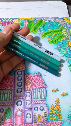 Colored Pencil Tutorial, Colored Pencil Techniques, Adult Coloring Book Pages, Coloring Books, Prismacolor, Diy Y Manualidades, Johanna Basford Coloring Book, Coloring Tips, Coloring Tutorial