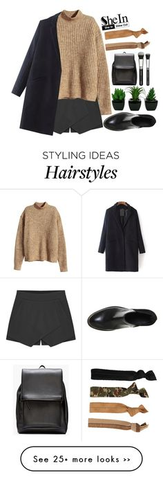 """""""#Shein"""" by credentovideos on Polyvore featuring Glam Bands, H&M, Office and Marni"""