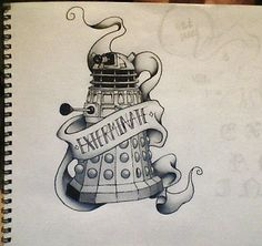 Dalek tattoo???? XDD