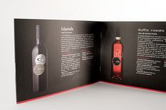Brochure – Winery Product Detail | Label design