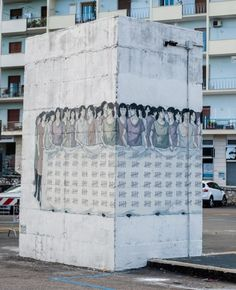 Hyuro – International Day of the Woman New Mural @ Formia, Italy | Ozarts Etc