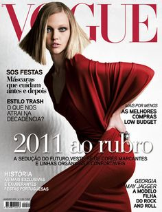 Sasha Pivovarova by Patrick Demarchelier Vogue Portugal January 2011 Vogue Magazine Covers, Fashion Magazine Cover, Fashion Cover, Vogue Korea, Vogue Uk, Vogue Covers, Vogue Portugal, Vogue Photography, Sasha Pivovarova