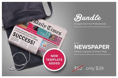 Newspaper Bundle @creativework247