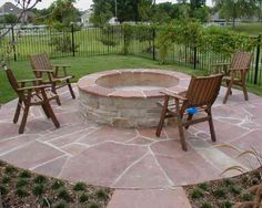 how to lay stone on yard creating a patio - Google Search