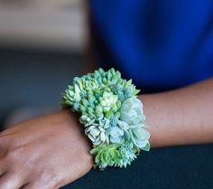 Designer cria joias vivas usando suculentas