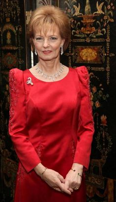 Princess Margarita of Romania Principesa Margareta a Romaniei Royal Jewelry, Jewellery, Romanian Royal Family, Royal Families Of Europe, First Daughter, Royal Fashion, Lady In Red, Royalty, Celebrities