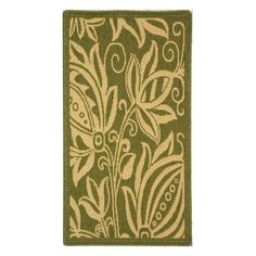 Have to have it. Safavieh Courtyard CY2961 Area Rug Olive/Natural - $32.99 @hayneedle