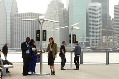 PENSA street charged in NY - public places 2.0 - #smartphones #NYC #Embajadoradeciudades